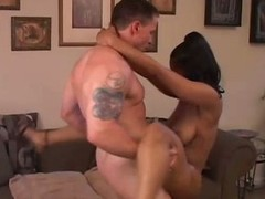 Sexy mature sombre babe fucks younger white guy
