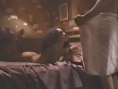 Ebony Star Lisa Bonet's Hot Booty Exposed in a 'Bank Robber' Scene