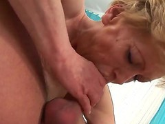 Maria E takes dudes love torpedo in her pussy hole